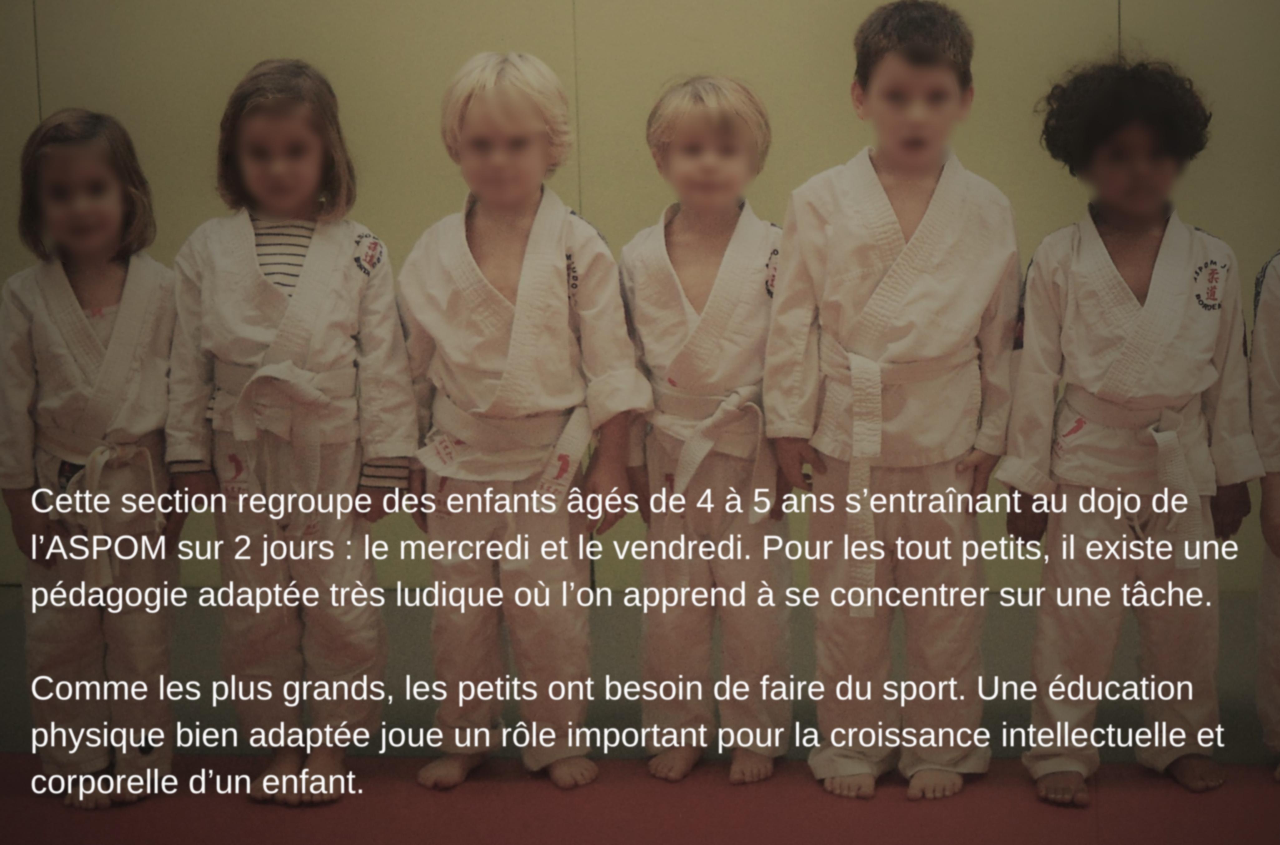 Eveil judo Baby Judo