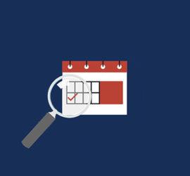 Calendrier Schedule
