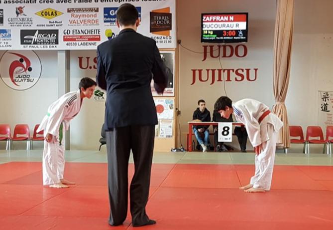 compétition judo