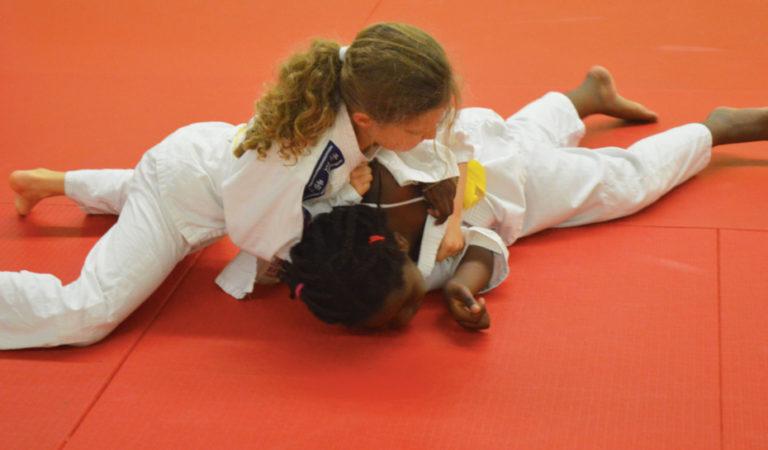 Combat de judo filles