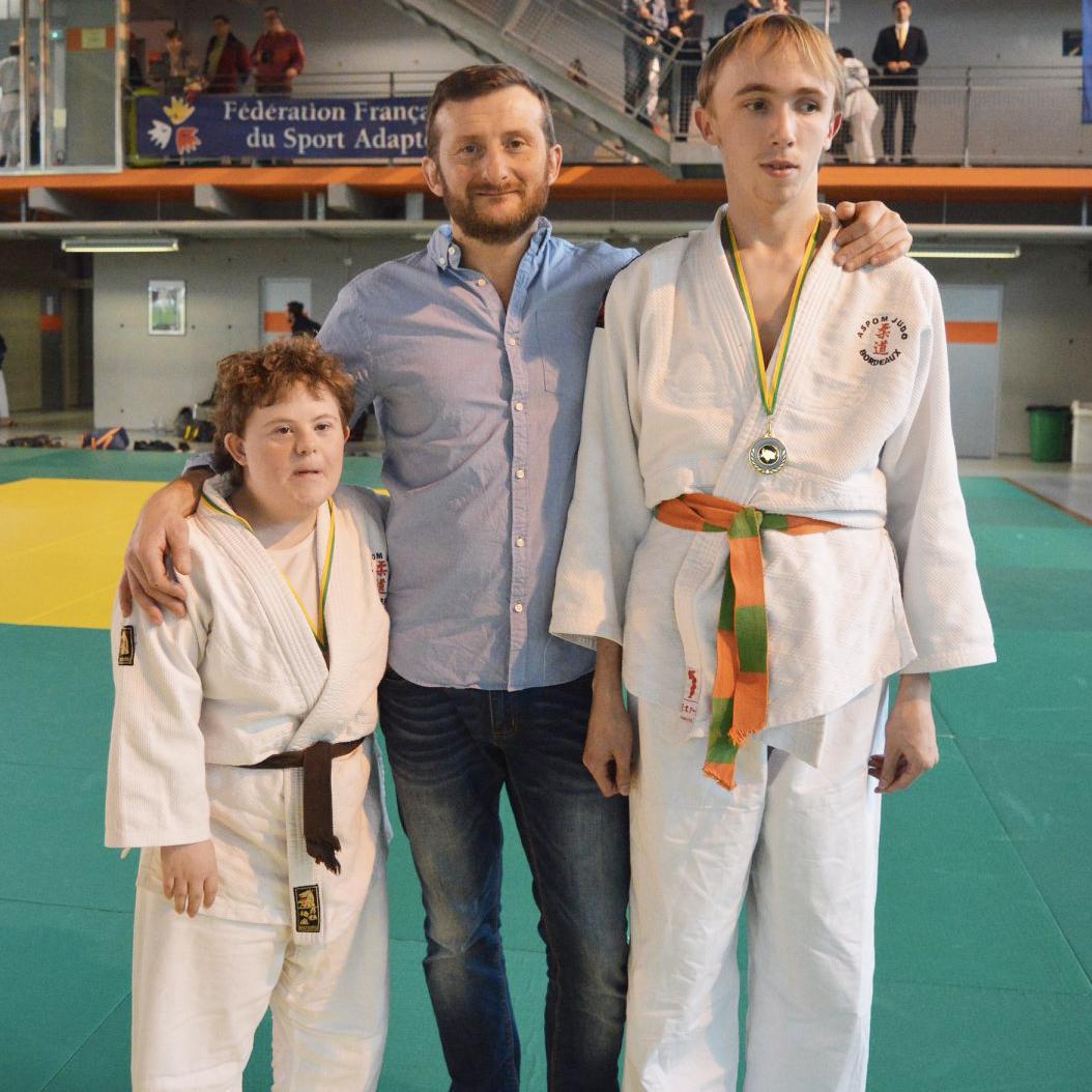 fédération française de judo adapté