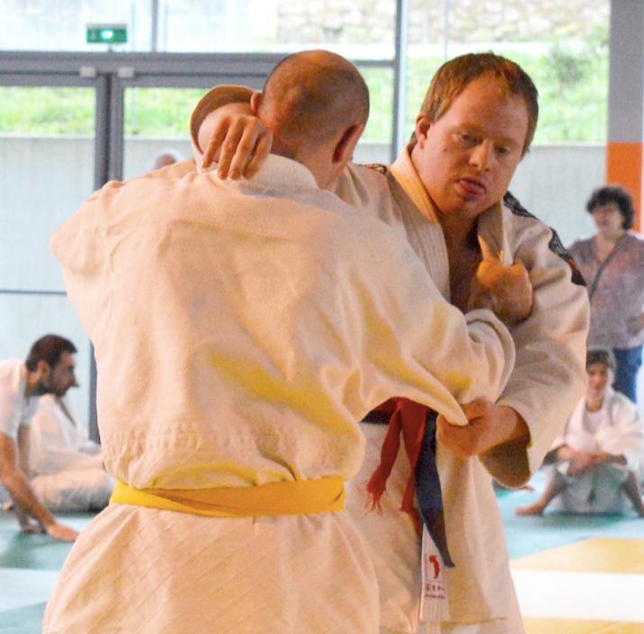 Section judo adapté